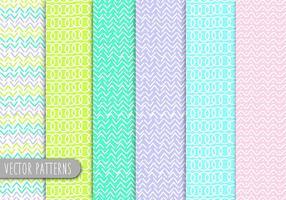 Line Art Patterns vektor