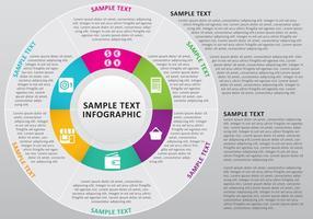 Kreis Infografik Vektor