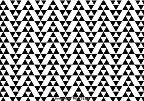 Schwarz-Weiß-Dreieck-Muster