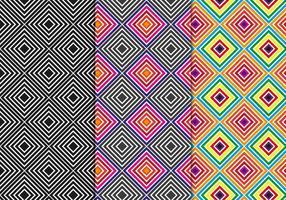 Free Seamless Geometric Hintergrund Vektor