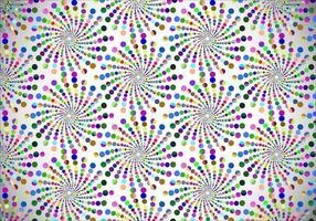 Gratis färgrik prickad vektor