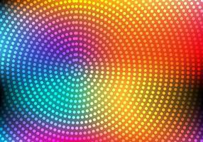 Freier bunter abstrakter Kreis-Vektor