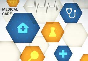 Gratis medicinsk vård vektor