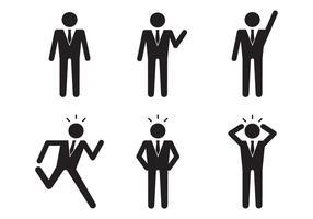 Geschäftsmann Icon vektor
