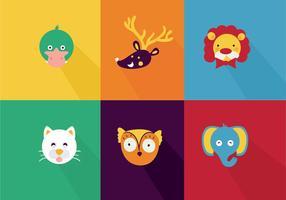 Nette Tier Cartoon Vektoren