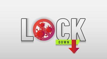 coronavirus bakgrund för att beskriva om lockdown