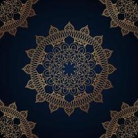 eleganter Mandala Hintergrund. vektor