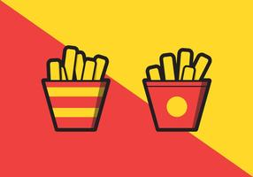 Französisch Fries Illustration