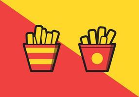 Pommes frites illustration vektor
