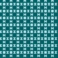 cyan geometriska fyrkantiga timglasmönster vektor