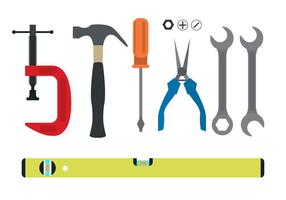 Werkzeugkollektion vektor