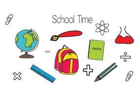 Schule Vektor Formen
