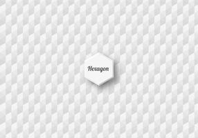 Gratis sömlös hexagon vektor