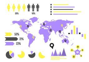 Vektor Infografie Elemente