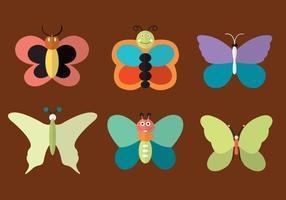 Schmetterlingsvektoren vektor