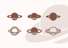 Saturn vektor icon pack vol 2