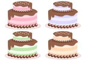 Freier Kuchen-Vektor vektor