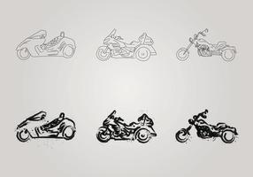 Free Motor Trike Vektor-Illustration vektor