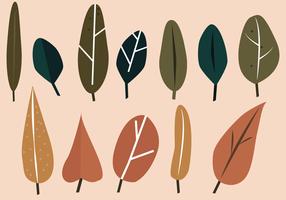 Gratis Leaf Vector