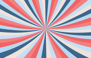 röd, blå och persika brast bakgrund vektor