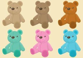 Teddybär-Vektoren