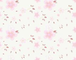 rosa Blüten mit rosa Blattmuster