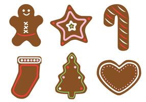 Gratis Gingerbread Vector