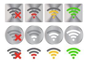 WiFi-logotypvektorer vektor
