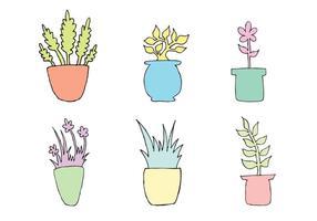 Freie Pflanzer-Vektor-Serie
