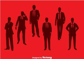 Bussiness man silhouette