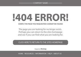 404 Fel Sidmall
