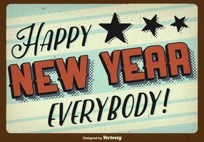 Glückliches neues Jahr Hintergrund vektor