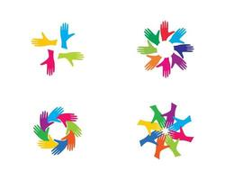 community logo set