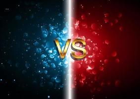 versus Kampfbildschirm