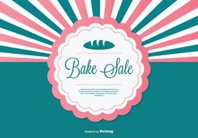 Bake Sale Bakgrund Illustration vektor