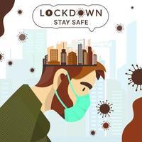 låsa ner coronavirus