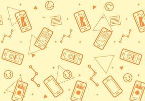 Freies Iphone 6 Muster # 5 vektor