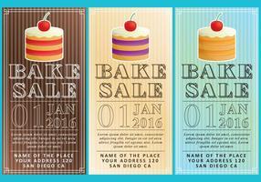 Bake Sale Flyer vektor