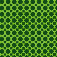 grönt geometriskt formmönster