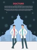 Ärzte, die gemeinsam auf die Weltgesundheit hinarbeiten