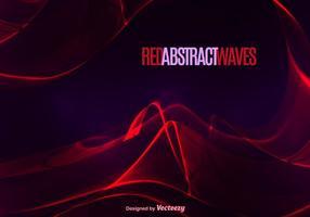 Abstrakte rote Welle vektor