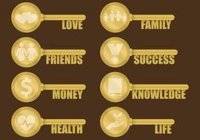 Schlüssel des Lebens Vektoren