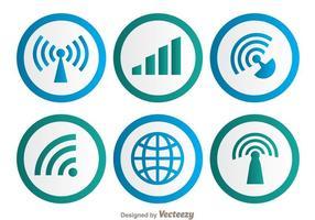 Wifi-symbol vektor