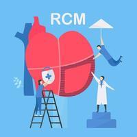 kardiologische Pflege für rcm Design