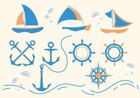 Nautica vektorer