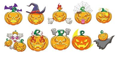 pumpa halloween set