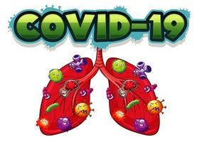 Schriftdesign für covid-19