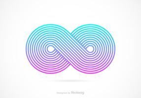 Gratis Retro Infinity Symbol Vector