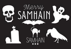 Samhain Vector Illustrationer