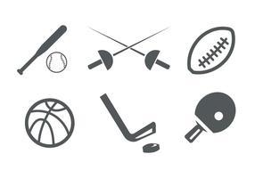Sport ikoner vektor